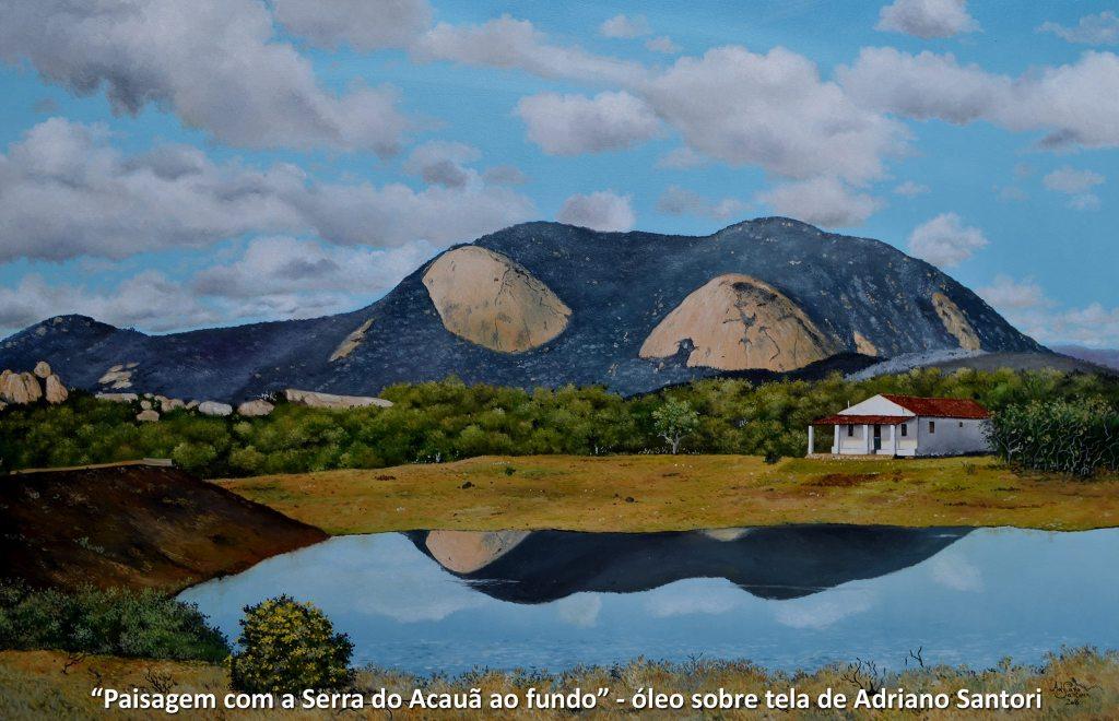 Paisagem com Serra do Acauã ao Fundo Adriano Santori