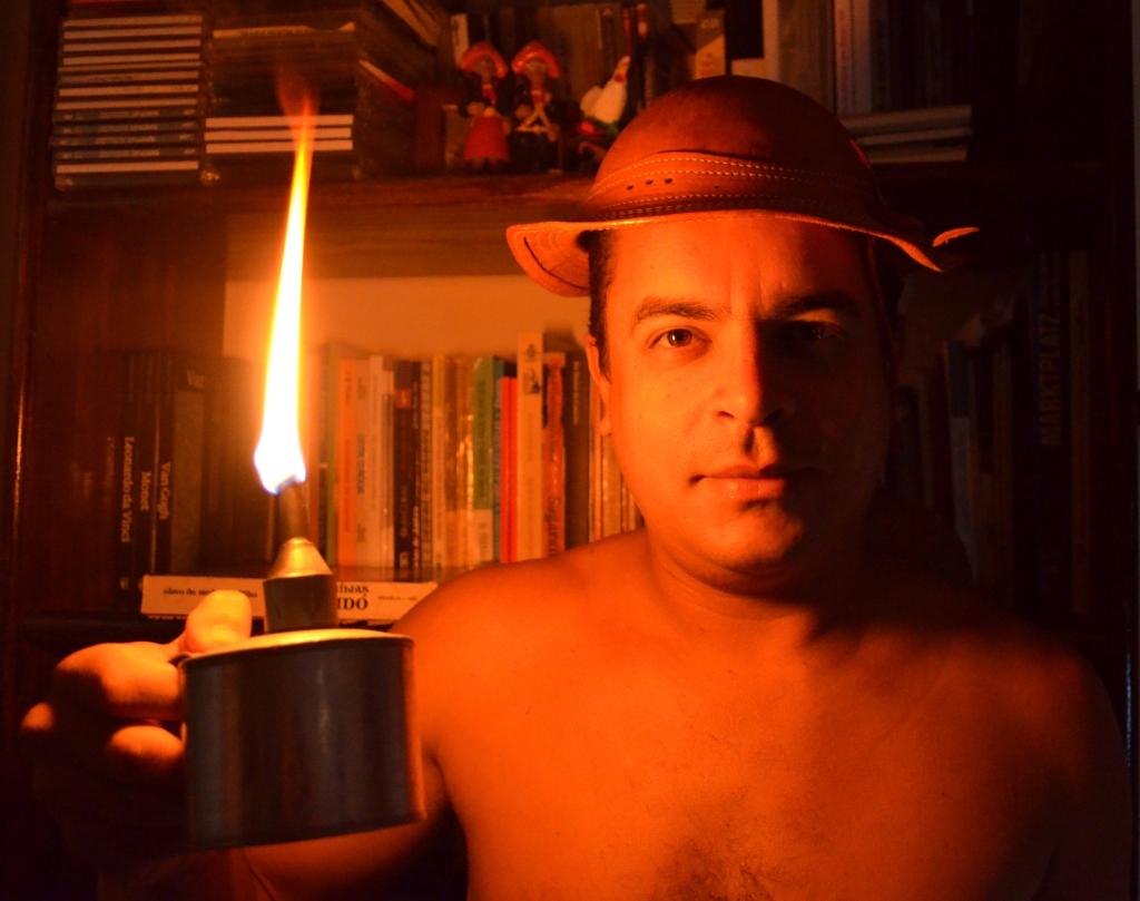 Adriano Santori auto retrato