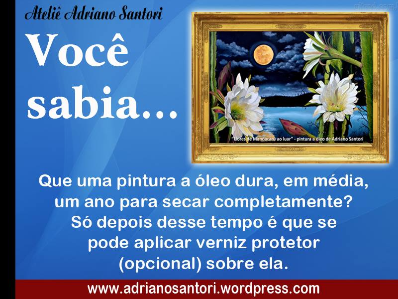 Adriano Santori dica de pintura