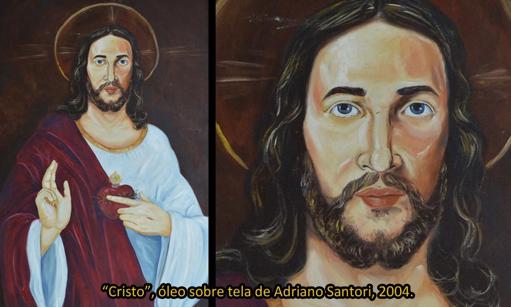 Jesus Cristo por Adriano Santori 2004