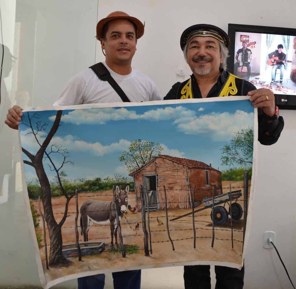 Santanna o cantador e Adriano Santori
