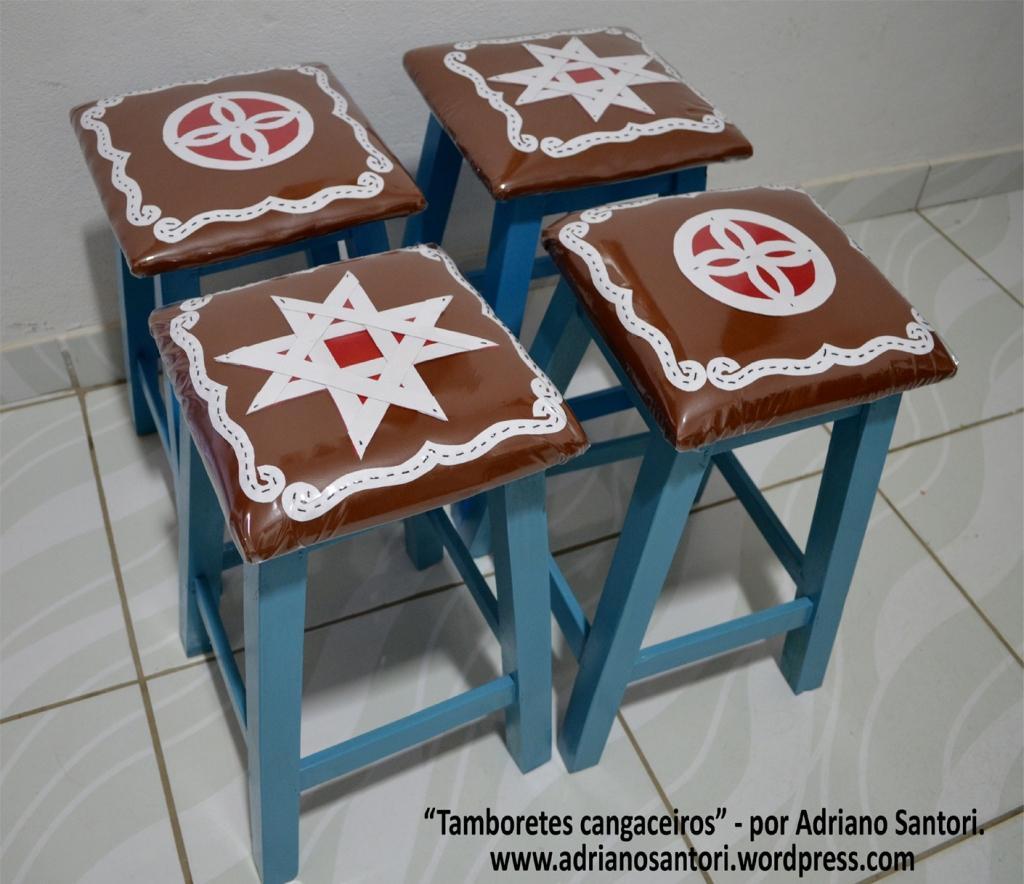 tamboretes cangaceiros Adriano Santori post
