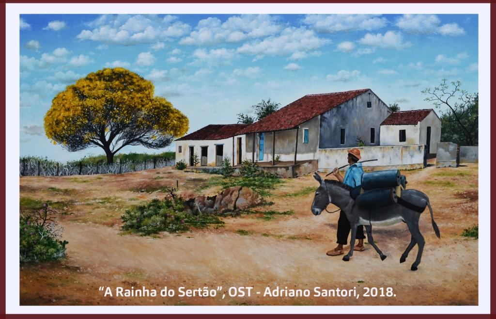 A Rainha do Sertão Adriano Santori